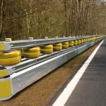 Rolling Barrier for motorbike