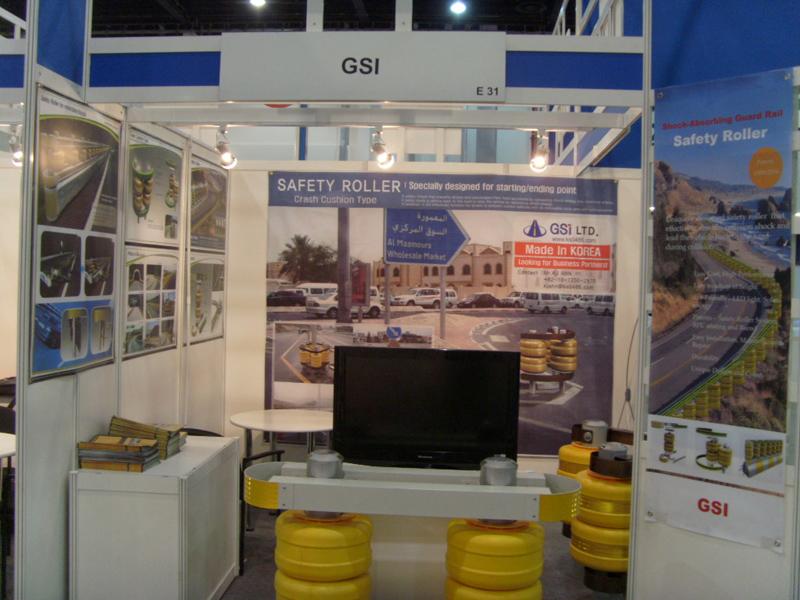 2010 Abu Dhabi in U A E | Safety Roller Barrier, Solar LED